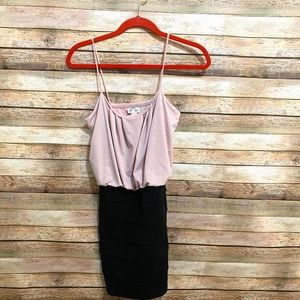 NEW PARTY DRESS| Soft Pink and Black| Size: M